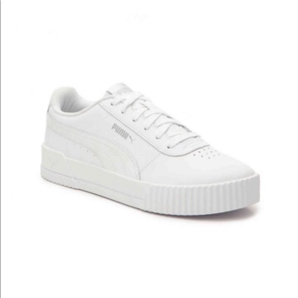 white puma soft foam